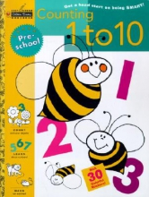 Golden Books Counting 1 to 10, Grade Preschool [With 30 Stickers]