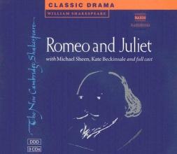 Shakespeare, William Romeo and Juliet 3 Audio CD Set