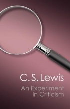 Lewis, C. S. An Experiment in Criticism