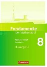 Fundamente der Mathematik 8. Schuljahr - Gymnasium Sachsen-Anhalt - Lösungen zum Schülerbuch