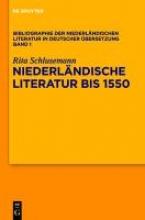Schlusemann, Rita Bibliographie der niederländischen Literatur in deutscher Übersetzung 1