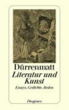 Dürrenmatt, Friedrich Literatur und Kunst