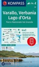 , Varallo, Verbania, Lago d`Orta, Parco Nazionale Val Grande 1:50 000