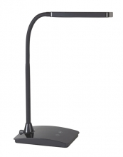 , Bureaulamp MAUL Pearly LED colour vario dimbaar zwart
