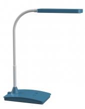 , Bureaulamp MAUL Pearly LED colour vario dimbaar atlantic blue