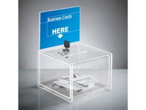 , ktiebak Sigel transparant incl slot 15x22x15mm cm + insteek voor A6