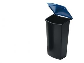 , inzetbakje voor afvalbak HAN Mondo 3 liter zwart / blauw