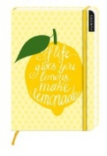 myNotes: If life gives you lemons, make lemonade Notizbuch gro blanko