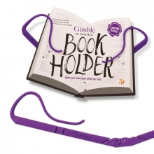 Gimble Book Holder - Positively Purple