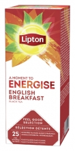 , Thee Lipton Energise English Breakfast 25stuks
