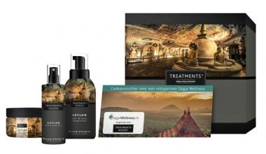 , Cadeaubox Treatments Ceylon set set + 2 vouchers