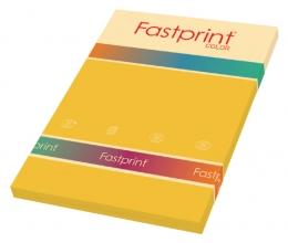 , Kopieerpapier Fastprint A4 80gr goudgeel 100vel