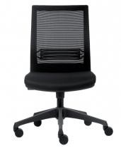 , Bureaustoel Euroseats Evora zwart