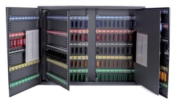 , Sleutelkast Pavo XL tweedeurs 300 haken 720x540x140mm
