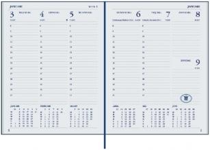 , Agenda 2021 Ryam weekplan plus 7dag/2pagina`s bordeaux
