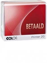 , Woordstempel Colop Printer 20 betaald
