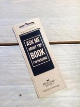 Ask me. Blossom boekenlegger set 8 stuks