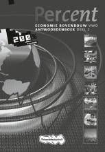 H.  Duijm, G.F.  Gorter, Percent Economie 2e fase 2010 2 VWO Antwoordenboek