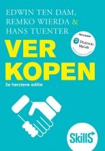 Hans Tuenter Edwin ten Dam  Remko Wierda, Verkopen, 2e herziene editie met MyLab NL toegangscode
