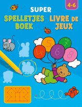 ZNU Super spelletjesboek, Livre de Jeux 4-6