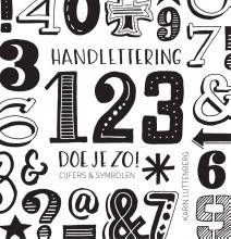 Karin Luttenberg , Handlettering 123 doe je zo!