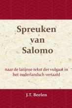 J.T. Beelen , De Spreuken van Salomo