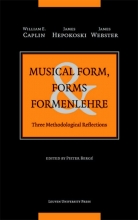 James Webster William Caplin  James Hepokoski, Musical Form, Forms & Formenlehre