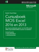 Studio Visual Steps , Cursusboek MOS Excel 2016 en 2013 Basis