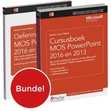 Studio Visual Steps , Cursusboek MOS PowerPoint 2013 + extra oefeningen