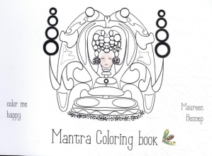 Maureen Hennep , Mantra Coloring book