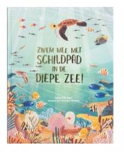 Catherine Barr , Zwem mee met schildpad in de diepe zee!
