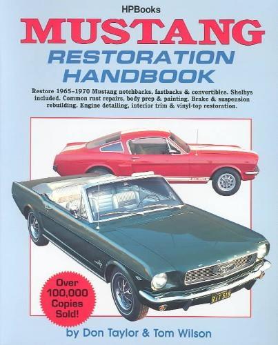 Don Taylor,Mustang Restoration Handbook Hp029