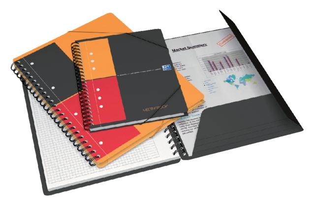 ,Spiraalblok Oxford International Meetingbook A5+ lijn