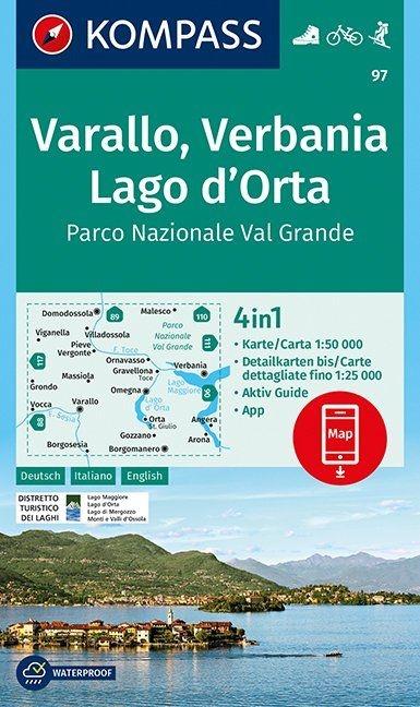 ,Varallo, Verbania, Lago d`Orta, Parco Nazionale Val Grande 1:50 000