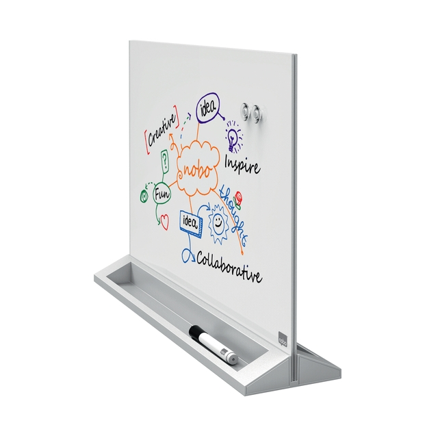 ,Desktop Glasbord Nobo Diamond
