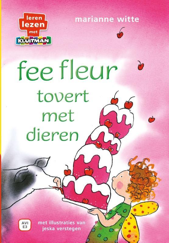 Marianne Witte,fee fleur tovert met dieren.