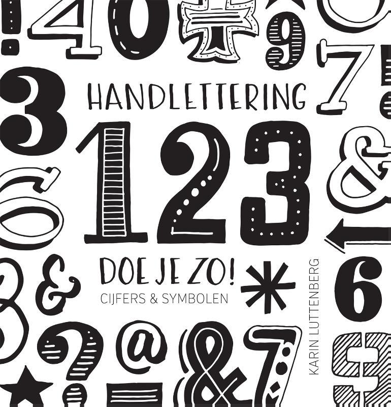 Karin Luttenberg,Handlettering 123 doe je zo!