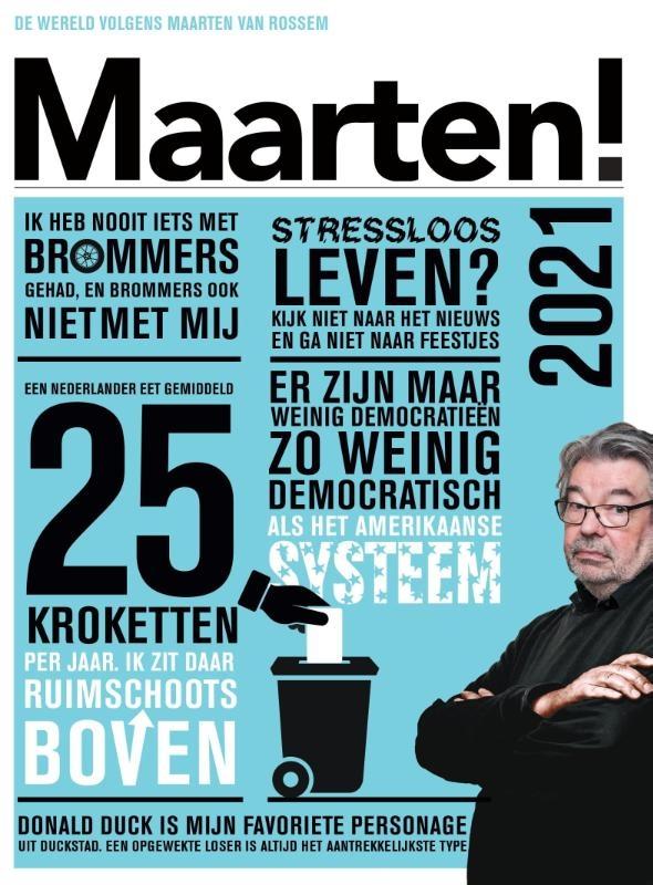 (red.),Maarten! Scheurkalender 2021
