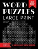 ,Word Puzzles Large Print