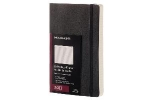 ,Moleskine 12 month planner - daily - large - black - soft cover