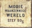 ,Het nieuwe langverwachte album MOOIE WAANZINNIGE WERELD (uitgebracht op CD en vinyl) van Stef Bos is nu  verkrijgbaar.Na Minder Meer (2011) is dit Stefs 13e studio-album. Ook nu weer met prachtige nummers.