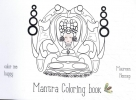 Maureen  Hennep ,Mantra Coloring book