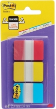 , Indextabs 3M Post-it 686 25.4x38.1mm strong assorti