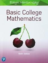Elayn Martin-Gay Basic College Mathematics