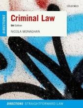 Monaghan, Nicola Criminal Law Directions