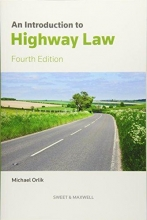 Orlik, Michael Introduction to Highway Law