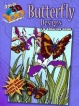 Jessica Mazurkiewicz 3-D Coloring Book - Butterfly Designs