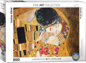 Eur-6000-0142 , Puzzel the kiss - gustav klimt- eurographics- 1000 stuks