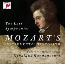 , Nikolaus Harnoncourt - W.A.Mozart - The Last Symphonies CD