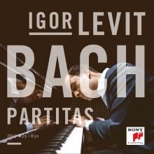 , Bach - Partitas - Igor Levit CD